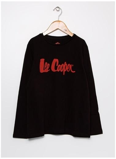 Lee Cooper Lee Cooper Baskılı Siyah  Sweatshirt Siyah